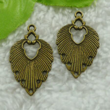 4 Antique Bronze Charms Antique Bronze Plated Charms G21439 45x4mm