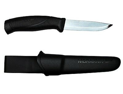 Mora of Sweden Companion Black Stainless Steel Knife Morakniv 12141