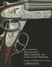 CHRISTIES Antique Arms Armour Sword Gun Pistol Gilardi Coll Auction Catalog 2013