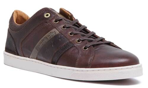 Uomo Brown Pantofola Uk Mens Enzo Size D'oro Trainers Matt 6 12 Leather Dark FwBB6Hxaq