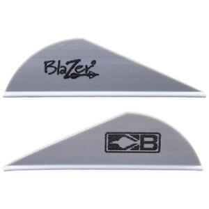 Bohning Blazer Vanes Silver 36 Pack