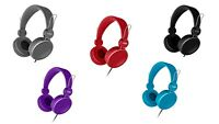 Coby Bass Boost Stereo Over Ear Headphones Headset Built-in Mic Explosive Sound