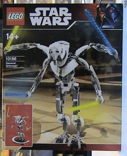 NEW Lego Star Wars 10186 General Grievous UCS New SEALED HTF