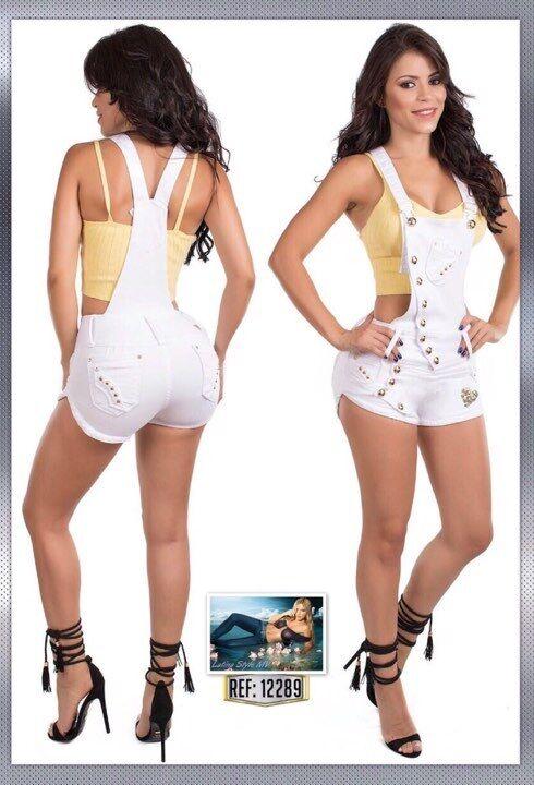 Colombian Butt Lift Romper- White color. Sizes  1 2,3 4,5 6