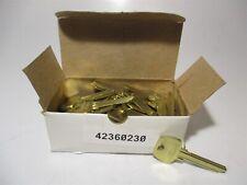 Sargent 50 6275 Hj 6 Pin Factory Original Nickel Silver Key Blank Box Of 50