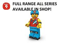 Lego minifigures roller derby girl series 9 (71000) unopened new factory sealed