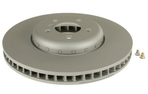 For BMW F01 F02 F07 Front Passsenger Right Vented Brake Disc 2 Piece ATE COATED