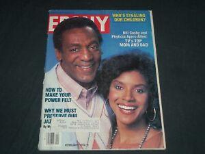 1986 FEBRUARY EBONY MAGAZINE - BILL COSBY & PHYLICIA AYERS ...
