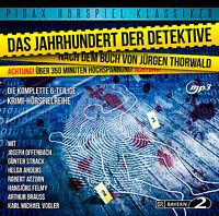 Das Jahrhundert der Detektive * CD Krimi Hörspiel MP3-CD Pidax Neu Ovp