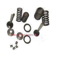 Honda 70cc Valve Rebuild Kit Intake Exhaust Valves Springs Ct70 Trail 70 S65