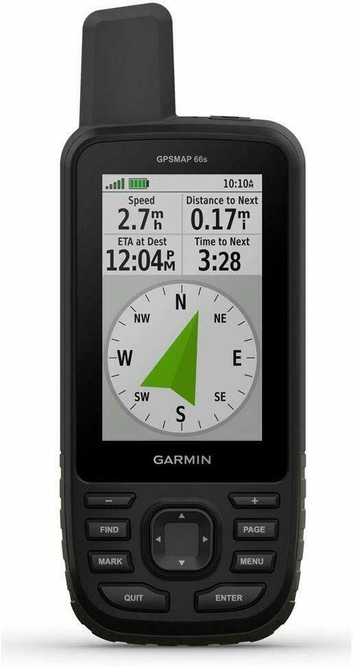 Garmin GPSMAP 66S all'aperto GPS TOPO PRO Bundle 1 50K OS GB Mapping
