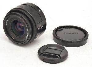 Minolta-Maxxum-AF-28mm-F2-8-Lens-For-Sony-Alpha-Mount-Good-Condition