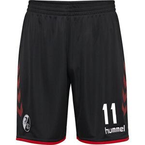 Hummel-Herren-SC-Freiburg-SCF-Home-Shorts-2019-20-Heimhose-Waldschmidt-11-schwar