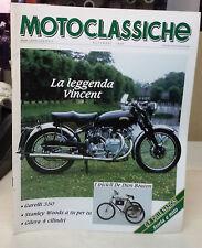 MOTOCLASSICHE Novembre 1989  Allegato a Ruote classiche  pagine 50