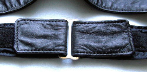 Damen Gürtel Leder schwarz Conchos 58 bis 85 cm Hüftgürtel Taillengürtel USA