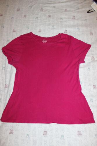 Old Navy Femme Tee shirt à encolure ras-du-cou Rose courte à mancherons taille X-Large Top