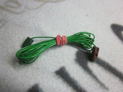 1 x Fischertechnik original Einzel-Kabel mit Steckern 98 cm lang Elektrik 6//9 V