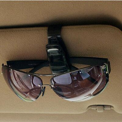 New 1Pcs Car Auto Visor Accessories Sunglasses Card Pen Holder Easy Clip Folder