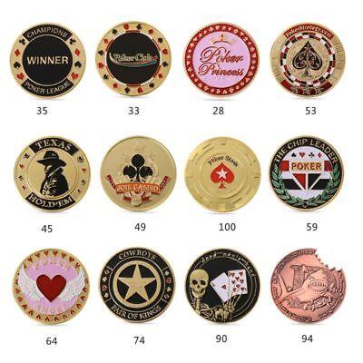 Metal Craft Banker Chips Press Card Poker Chips Accessories Souvenir O