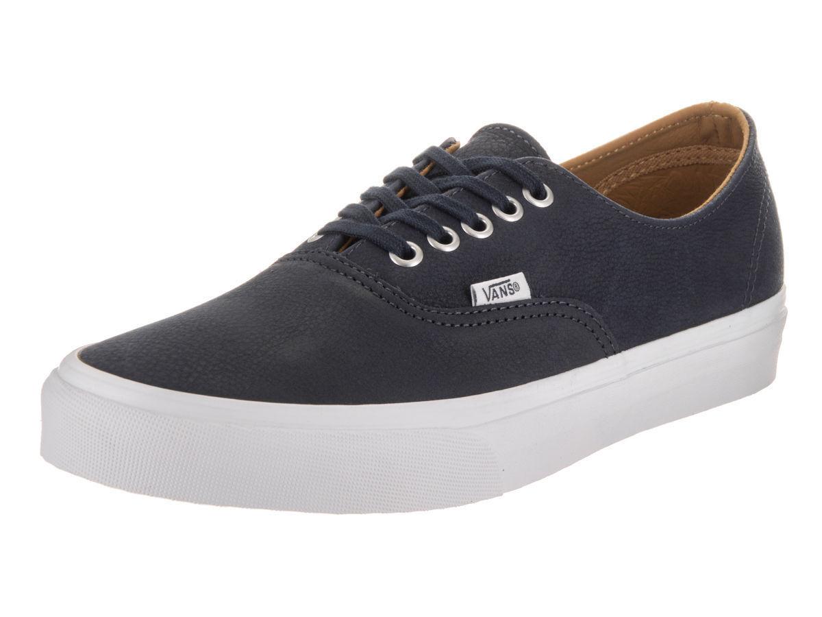 Vans Parisia Navy Blau Premium Leder Authentic Decon Schuhes New