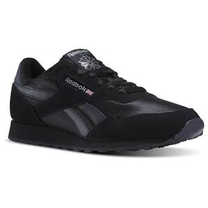 Image is loading Reebok-Royal-Nylon-Classic-BD1554-Black-Black-Mens-