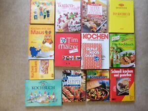14 Kochbucher Koch Kochen Buch Backen Landfrauen Romertopf Kuchen