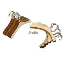 10 Wood Metal Clothes Hanger for 1/6 BJD SD MSD DOD DOC DD YOSD Dollfie Doll