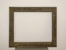 96 x 79 cm  Bilderrahmen Louis XVIII Antique Frame Barock Gold Impressionismus