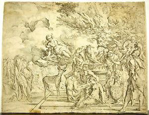 The Opfer Von Iphigenie c1640 By Pietro Testa Sanctuary Von 'Artemis Radierung