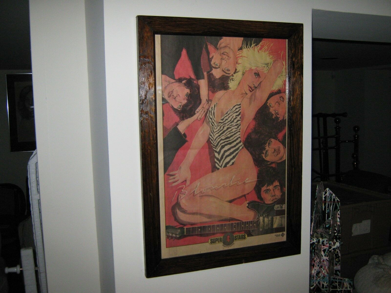 Blondie , Framed Comic Posters, Ready to Hang, 1980's ,