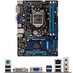 Per ASUS P8B75-M LX PLUS Intel Socket LGA 1155 Micro ATX PC Scheda Madre DDR3
