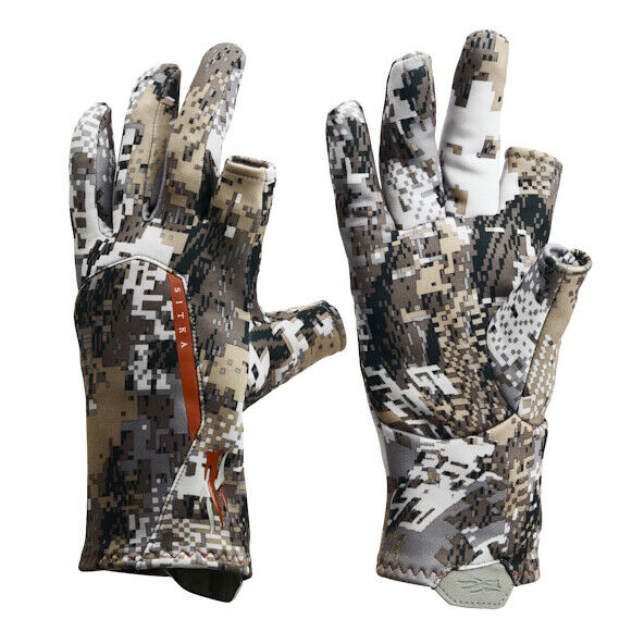 Sitka Gear Fanatic Gloves Large 90089-EV-L Optifade Elevated II