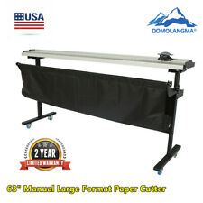 Qomolangma 63 Manual Large Format Paper Cutter Paper Trimmer With Support Stand
