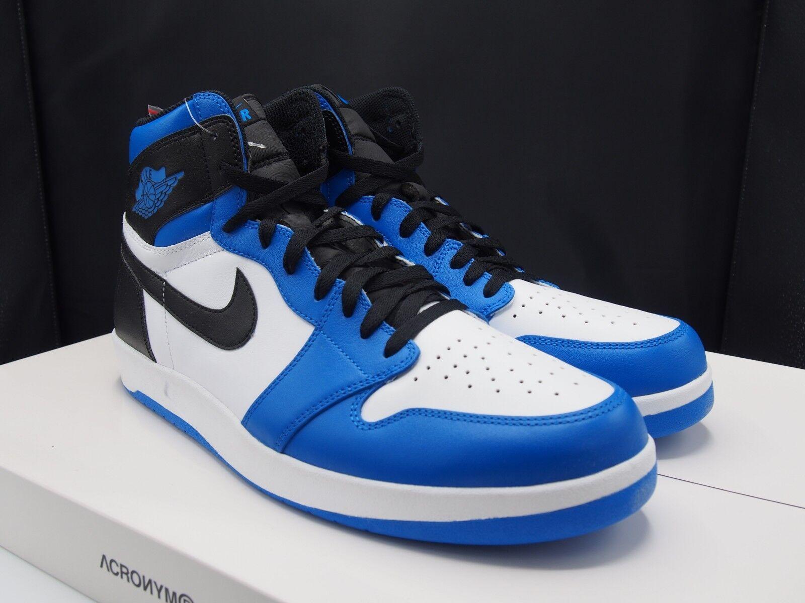 Nike air jordan 1 alto il ritorno indietro unfragment 768861-106