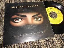 """MICHAEL JACKSON IN THE CLOSET SINGLE 7"""" 1992 PROMO ONE SIDE SPAIN"""