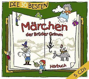 Die-30-besten-Maerchen-der-Brueder-Grimm-5-CD-HORBUCH-Neu-amp-eingeschweisst