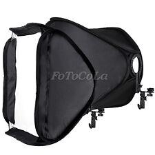 "FOTGA 32"" 80cm portable foldable hot shoe softbox tent for flash speedlite White"