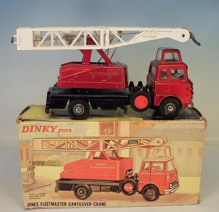 Noël, envoie de de de la joie DINKY toys 970 Jones FLEETMASTER cantilever Crane OVP #3818   Sale  c30ea9