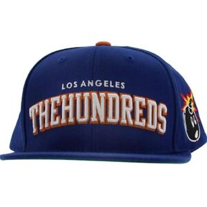 The-Hundreds-Player-Snapback-Cap-blue