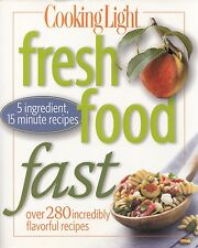 FRESH FOOD FAST COOKING LIGHT COOKBOOK 280+ RECIPES DEEP SOUTH SHRIMP & SAUSAGE