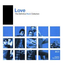 LOVE - The Definitive Rock Collection (Best Of) - Dig. Rem. - 2 CD Set - NEU/OVP