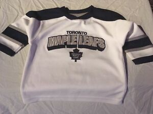 best service ef9cd 53b35 Details about Toronto Maple Leafs Toddler Child Vintage Size 2 Jersey NHL  Mighty Mac