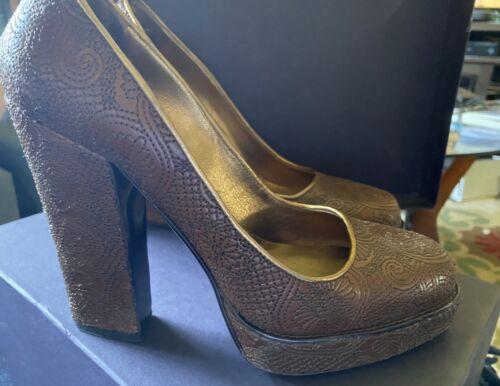 Vintage Prada Platforms Size 38