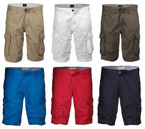7cb2ccb9d1 ESPRIT New Men's Plain Bermuda Cargo Combat Style Shorts Beige Khaki ...