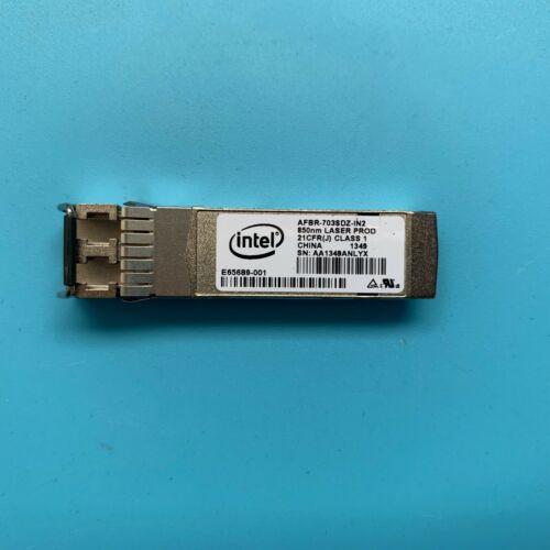 INTEL AFBR-703SDZ-IN2 E10GSFPSR10GbE SFP 10GBASE-SR module Transceiver