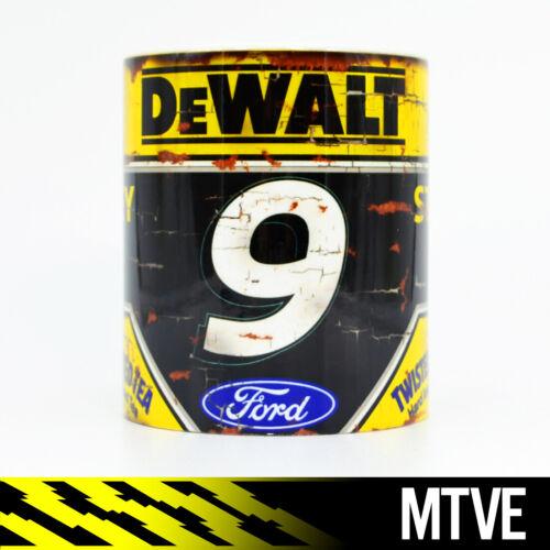 Vintage Chase Elliott Nascar Mug //// American Racing Goodyear Cup Car DeWALT FORD