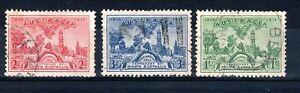 Australia 1936 Centenary of South Australia set FU CDS