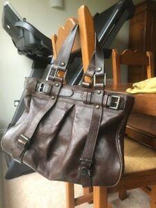 2b8765338f Image is loading Genuine-Jacquetta-Mulberry-handbag