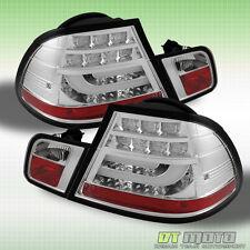 04-06 BMW E46 3-Series 2Dr Philips-LED Perform Chrome Tail Lights w/LED Signal