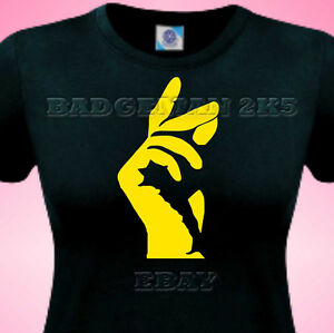 STAX-FINGERS-RETRO-Northern-Soul-jazz-Blues-MUSIC-Ladies-Fitted-T-SHIRT